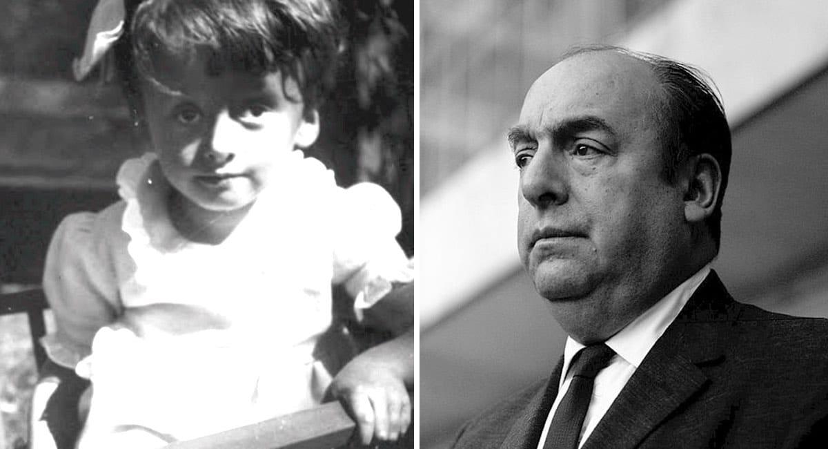 Pablo Neruda Y Su Hija